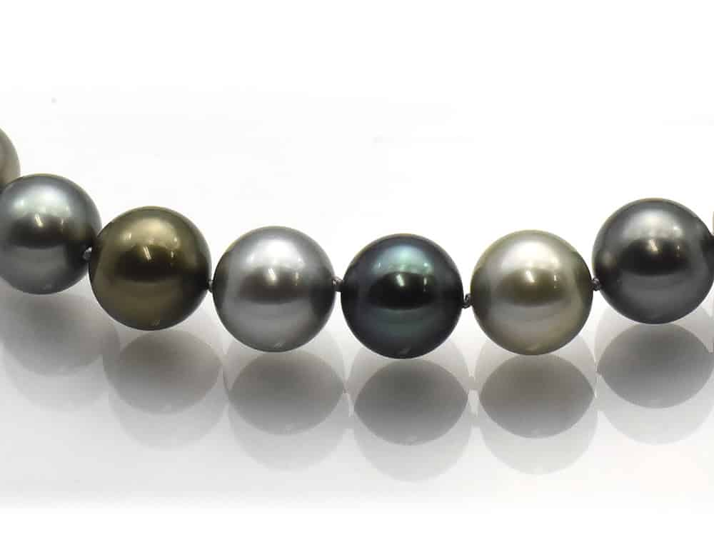 Tahitian Multi-color Pearl Necklace