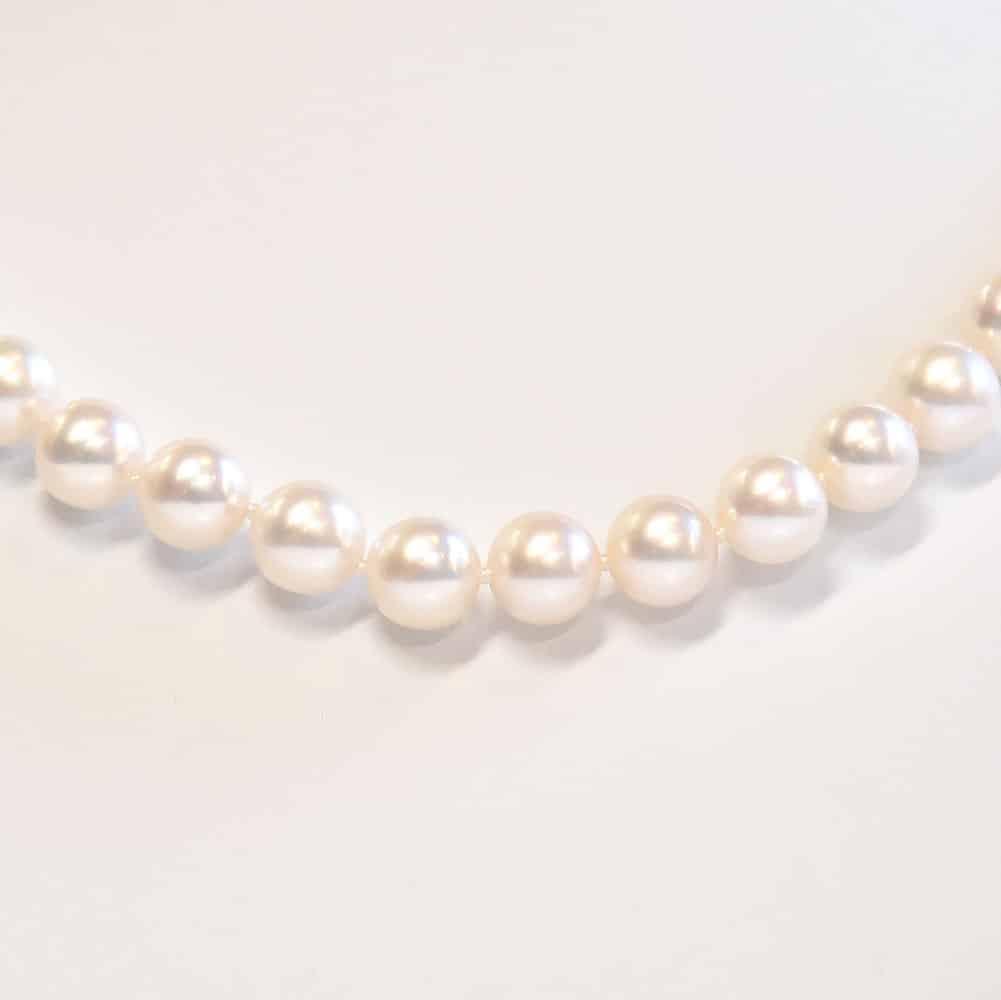 Japanese Akoya pearl necklace