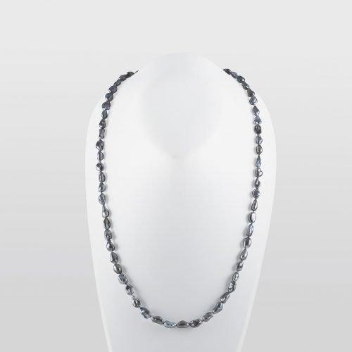 Tahitian Natural Keshi Pearl Necklace
