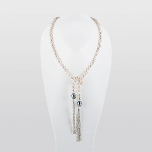 Japanese Akoya Baroque Akoya Pearl Necklace