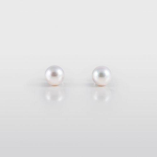 Japanese Akoya Stud Pearl Earrings