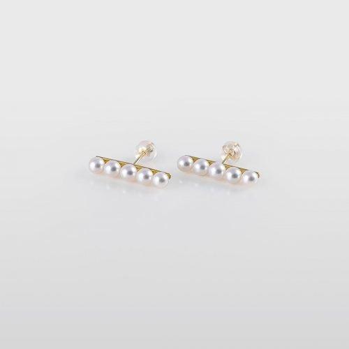 Japanese Akoya Pearl Earrings AAA 4mm